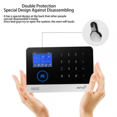 Cellular + Wi-Fi Smart Security System